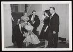 Three Couples in Semi Formal Attire, Westbrook Junior College, 1959