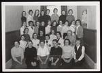 Goddard Hall Residents, Westbook Junior College, 1958 by Wendell White Studio