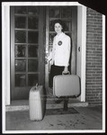 Arrival Photograph, Delanne Abbott, Westbrook Junior College, Class of 1961