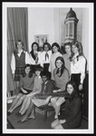 Eleven Members of the Tower Staff, Westbrook Junior College, 1969