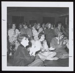 Audience to a Performance in Moulton Theater, Westbrook Junior College, April 1964