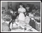 Work Study Waitressing, Westbrook Junior College, 1960s