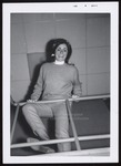 Westbrook Junior College Student at Railing, February 1967