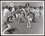 """Beach Day"", Westbrook Junior College Students at Crescent Beach, Fall 1969"