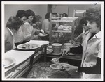 Serving Line in Alexander Hall, Westbrook Junior College, 1963