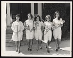 Five Candidates for May Queen, Westbrook Junior College, 1967