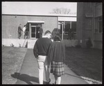 On the Pathway to Alexander Hall, Westbrook Junior College, 1964
