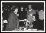 Tea Time on Parents' Weekend, Westbrook Junior College, 1964
