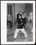 Student in Martial Arts Class, Westbrook Junior College, ca. 1960s