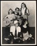 Modern Dance Club Rehearsal, May Weekend, Westbrook Junior College, 1964