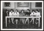 Editorial Board, Tower Staff, Westbrook Junior College, 1962