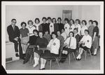 International Relations Club with Advisor William Jordan, Westbrook Junior College, 1961