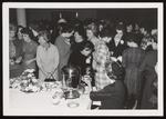 Taking Tea, Parent's Weekend, Westbrook Junior College, 1962