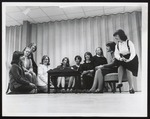 Student Meeting in Alexander Hall, Westbrook Junior College, 1965