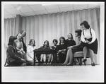 Student Meeting in Alexander Hall, Westbrook Junior College, 1965