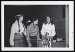 Three Students with Braided Hair, Westbrook Junior College, 1969