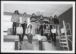 Twelve Students in Blewett Lounge, Westbrook Junior College, 1969