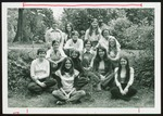 Thirteen Ginn Hall Students, Westbrook College, 1970s