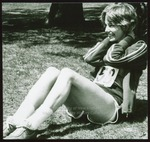 Cathy Walz, April Amble Runner, Westbrook College, 1978