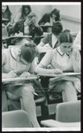 Nursing Students Take Exams, Westbrook College, Early 1970s by Ellis Herwig Photography