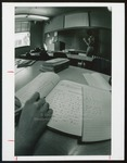 College Shorthand Book and Steno Notes, Westbrook College, 1970s by Ellis Herwig Photography