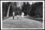 Three Students Jogging, Westbrook College, 1970s