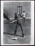 Baseball Batter, Westbrook College, 1970s