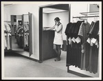 Fashion Merchandising Student at Telephone, Westbrook College, 1960s, 70s