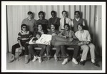 Alyson Blewett with Ten Students, Westbrook College, late 1980s