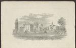 Westbrook Seminary, Campus Engraving, ca. 1862 by Richardson
