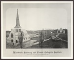 Westbrook Seminary and Female Collegiate Institute, 1868 by Augustus H. Folsom