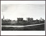 Westbrook Seminary Campus, ca. 1870 by M. F. King