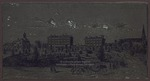"Printers Plate of ""The College Circle, Circa 1871,"" ca.1981"