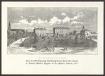 """""""From An Old Engraving: The College Circle, Circa 1871"""", ca.1981"""